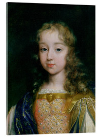Acrylic print  Louis XIV as a child - French School