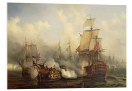 Forex  The Redoutable at Trafalgar - Auguste Etienne Francois Mayer