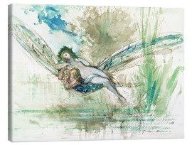 Canvas print  Dragonfly - Gustave Moreau