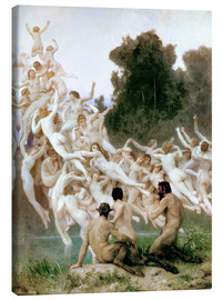 Canvas  The Oreads - William Adolphe Bouguereau