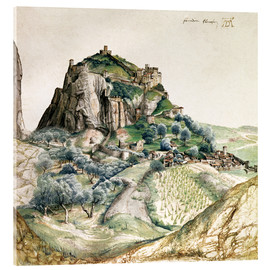 Acrylic glass  View of the Arco Valley in the Tyrol - Albrecht Dürer