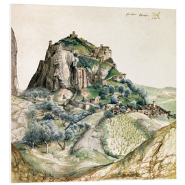 Foam board print  View of the Arco Valley in the Tyrol - Albrecht Dürer