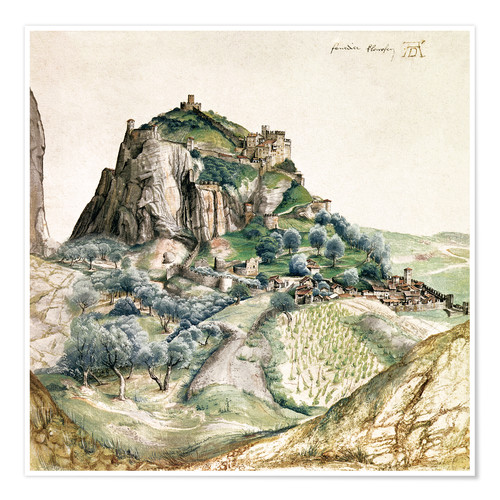 Poster View of the Arco Valley in the Tyrol