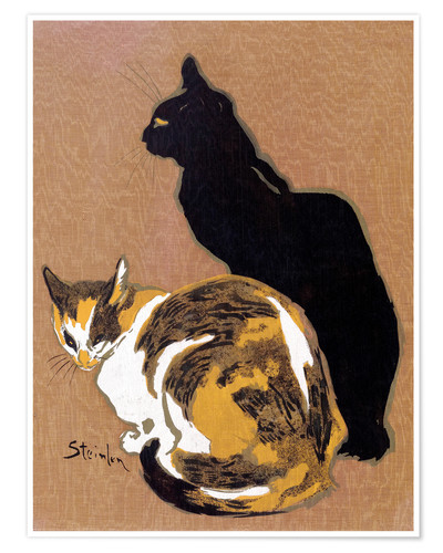 Premium poster Two Cats