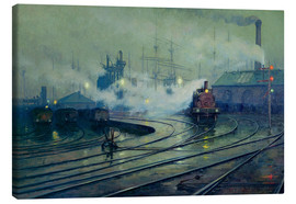 Canvas print  Cardiff Docks - Lionel Walden
