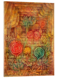 Acrylic glass  Spiral Flowers - Paul Klee