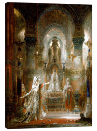 Canvas  Salome dancing before Herod - Gustave Moreau