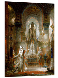 Foam board print  Salome dancing before Herod - Gustave Moreau