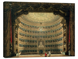 Canvas print  La Scala - Italian School