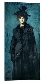 Acrylic print  Madame Laura Leroux - Jean-Jacques Henner