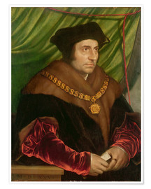 Premium poster Portrait of Sir Thomas More