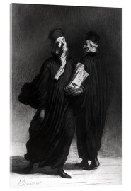 Honoré Daumier - Two Lawyers
