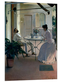 Forex  Furniture on the terrace - Ramon Casas i Carbo