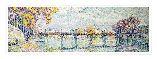 Premium poster The Pont des Arts