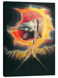Canvas  The Ancient of Days - William Blake