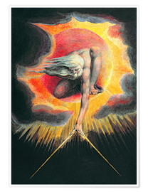 Premium poster  The Ancient of Days - William Blake