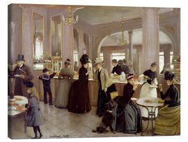 Canvas  The pastry Gloppe - Jean Beraud