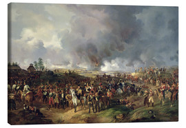 Canvas  The Battle of Leipzig - Alexander Ivanovich Sauerweid
