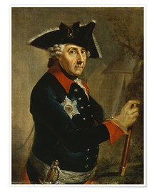 Poster  Frederick the Great of Prussia - Anton Graff