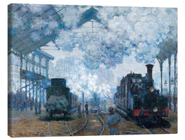 Claude Monet - The Gare St-Lazare