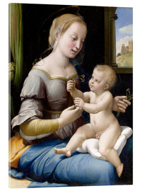 Acrylic print  Madonna and child - Raffael