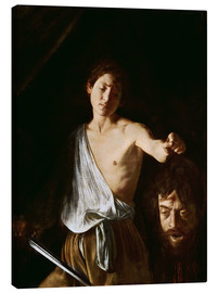 Canvas print  David with the Head of Goliath - Michelangelo Merisi (Caravaggio)