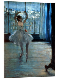 Acrylic print  Dancer in Front of a Window - Edgar Degas
