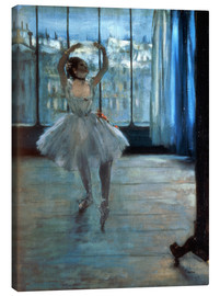 Canvas print  Dancer in Front of a Window - Edgar Degas