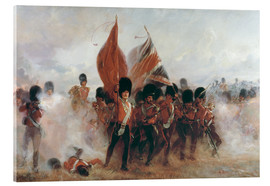 Acrylic print  The Colours: advance of the Scots Guards at the Alma - Lady Butler