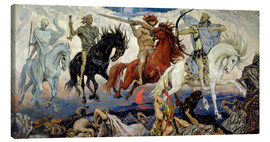 Canvas print  The Four Horsemen of the Apocalypse - Victor Mikhailovich Vasnetsov