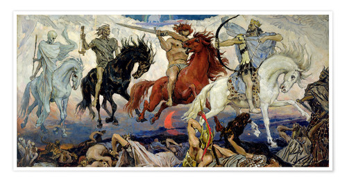 The Four Horsemen Of The Apocalypse Posters And Prints