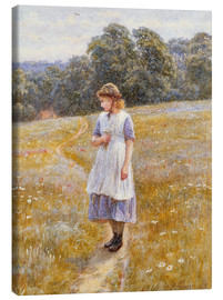 Canvas  Daydreamer - Helen Allingham