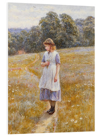 Foam board print  Daydreamer - Helen Allingham