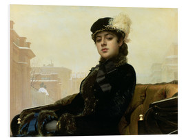 Forex  Portrait of an Unknown Woman - Ivan Nikolaevich Kramskoy