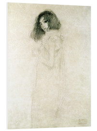 Forex  Portrait of a young woman - Gustav Klimt