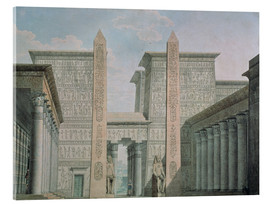 Acrylic print  The Entrance to the Temple - German School