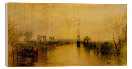 Wood print  Chichester Canal - Joseph Mallord William Turner