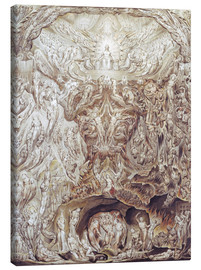 Canvas print  Last Judgement - William Blake