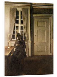 Forex  The Collector of Coins - Vilhelm Hammershoi
