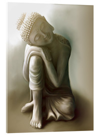 Acrylic glass  Buddha - Christine Ganz