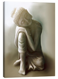 Canvas  Buddha - Christine Ganz