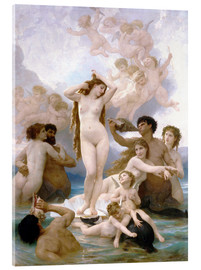 Acrylic print  Birth of Venus - William Adolphe Bouguereau