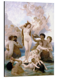 Aluminium print  Birth of Venus - William Adolphe Bouguereau