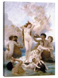 Canvas  Birth of Venus - William Adolphe Bouguereau