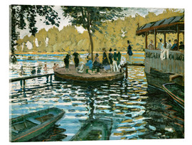 Acrylic print  The frog pond - Claude Monet