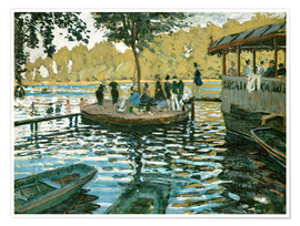 Premium poster The frog pond
