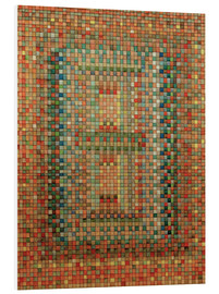 Foam board print  Portal of a Mosque - Paul Klee