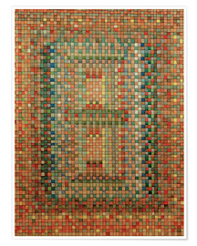 Premium poster  Portal of a Mosque - Paul Klee