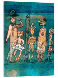 Acrylic glass  masks - Paul Klee
