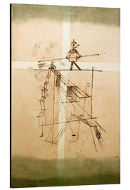 Alu-Dibond  Tightrope Walker - Paul Klee